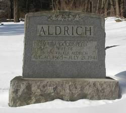 Maria L. <i>Goodspeed</i> Aldrich