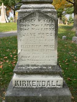 Kersey H Fell