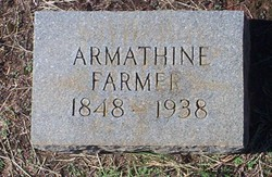 Linnie Armathine <i>Wilkerson</i> Farmer