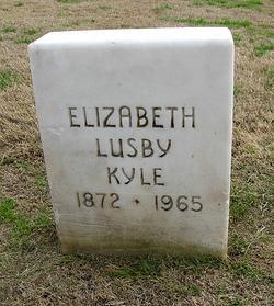 Elizabeth <i>Lusby</i> Kyle