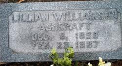 Lillian <i>Williamson</i> Ashcraft