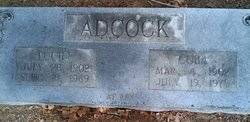 Lucile Adcock