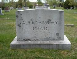 Maude M. <i>Avery</i> Rand