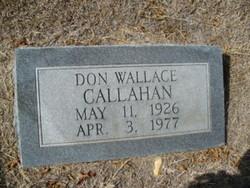 Don Wallace Callahan