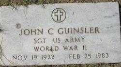 Sgt John C Guinsler