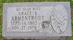 Grace B. Gracie <i>Creech</i> Armentrout
