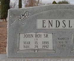 John Roy J.R. Endsley, Jr