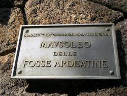 Mausoleo delle Fosse Ardeatine