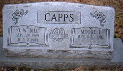 Minnie Irene <i>Hirshey</i> Capps