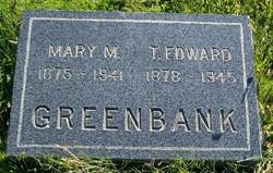 Mary <i>Moore</i> Greenbank