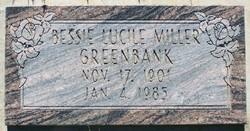Bessie Lucile <i>Miller</i> Greenbank
