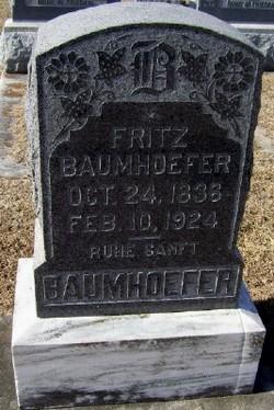 Frederick Henry Fritz Baumhoefer