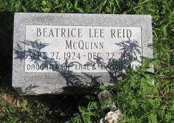 Beatrice Leona <i>Reid</i> McQuinn