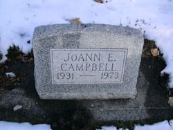 Joann E <i>Rossiter</i> Campbell