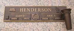 Ann S Henderson