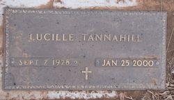 Lucille <i>Madison</i> Tannahill