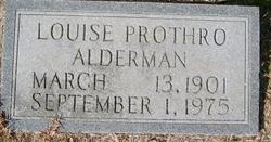 Louise <i>Prothro</i> Alderman