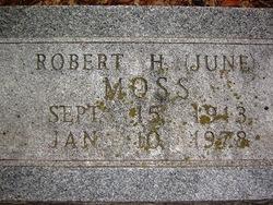 Robert Howell 'June' Moss, Jr