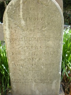 Thomas Leger Hutchinson