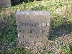 Margaret E. <i>Bee</i> Withington