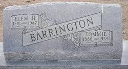 Tommie <i>Allison</i> Barrington