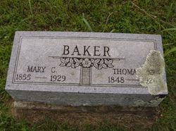 Mary Caroline <i>Maness</i> Baker