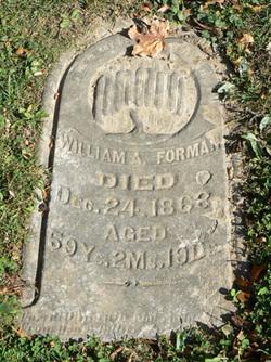 William A Forman