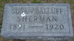 Susan Ethel <i>Balluff</i> Sherman