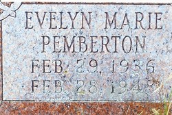 Evelyn Marie Pemberton
