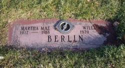 Martha Mae <i>Miller</i> Berlin