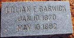Lillian E Barwick