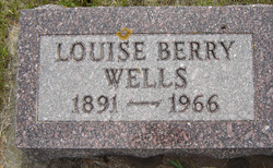 Louise Nancy <i>Dunsmoor</i> Berry Wells