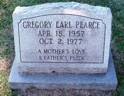 Gregory Earl Pearce