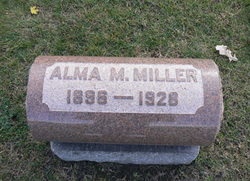 Alma Mary <i>Leppin</i> Miller