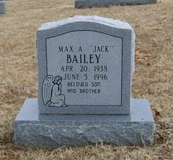 Max A. <i>(Jack)</i> Bailey