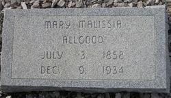 Mary Malissia Allgood