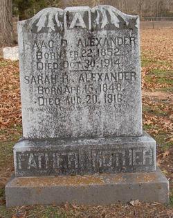 Isaac D Alexander
