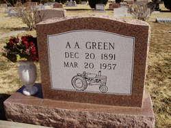 Arthur Ashby Double A Green