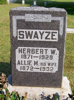 Allie Minerva <i>Adams</i> Swayze