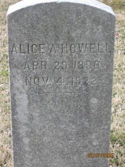 Alice Ann <i>Corbett</i> Howell