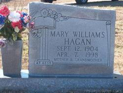 Mary <i>Williams</i> Hagan