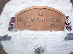 Isabel <i>Alvarez</i> Aldaco