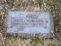 Teresa Una <i>Malan</i> Hobbs