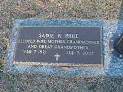 Sadie Rae <i>Foster</i> Prue