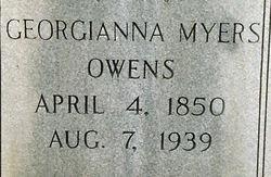 Georgianna <i>Myers</i> Owens