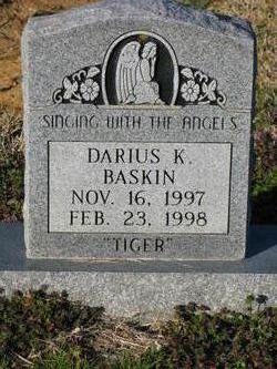 Darius K. Tiger Baskin
