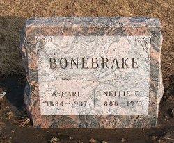 Nellie Gertrude <i>Siddens</i> Bonebrake