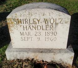 Shirley <i>Wolz</i> Handler
