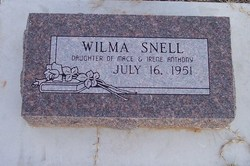 Wilma Snell Anthony
