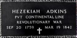 Hezekiah A. Adkins, Sr